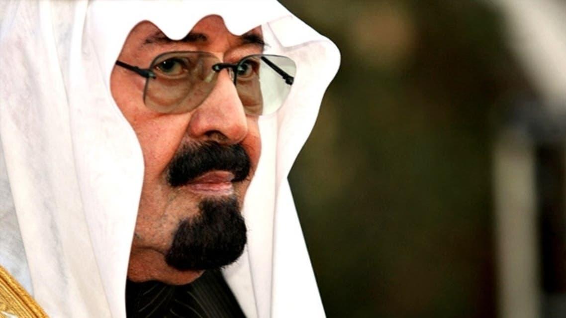 Saudi king Abdullah AFP