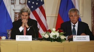 """كيري وهيغل غداً أمام مجلس الشيوخ للدفاع عن """"ضرب الأسد"""""""
