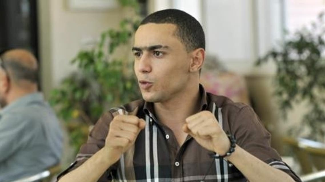 "Tunisian rapper Ala Yaacoubi, better know by his rap name ""Weld El 15"", was jailed in June for a song he wrote called ""The Police are Dogs"". (File photo: AFP)"