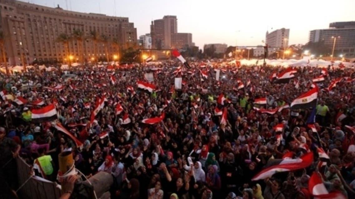 جانب من مظاهرات مصر