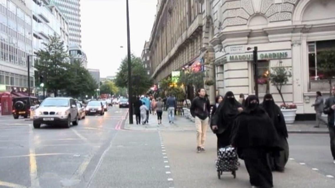 سياح سعوديون في لندن