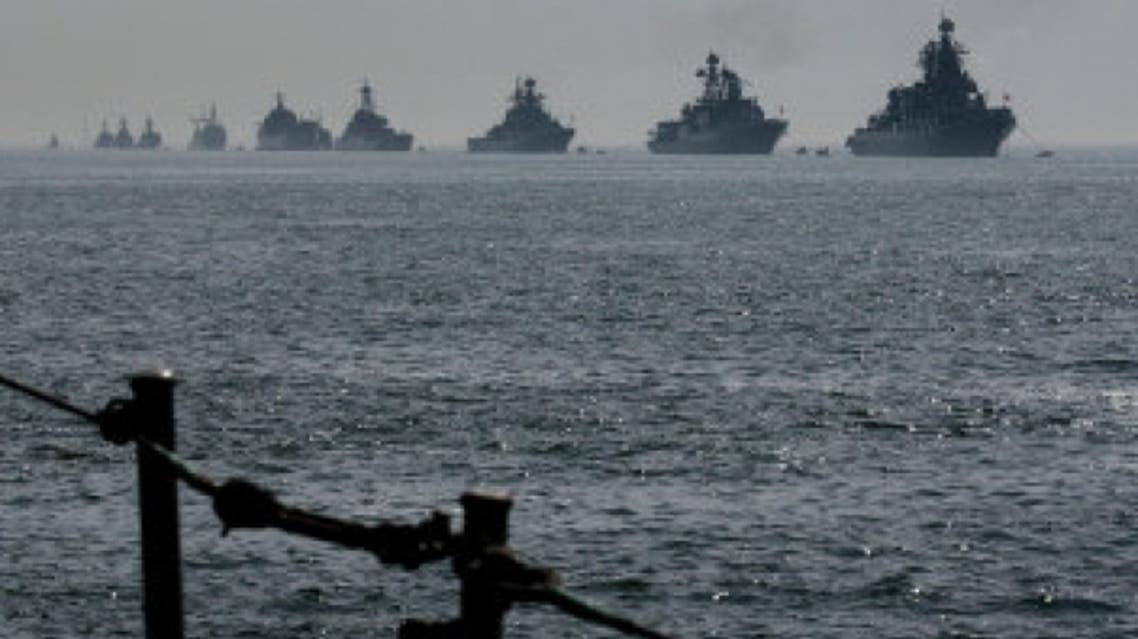 سفن في البحر المتوسط