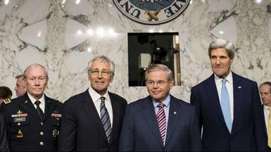كيري وهيغل يدافعان أمام مجلس الشيوخ عن ضرب نظام الأسد