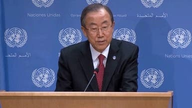بان كي مون: يجب أن يتحد مجلس الأمن حول سوريا