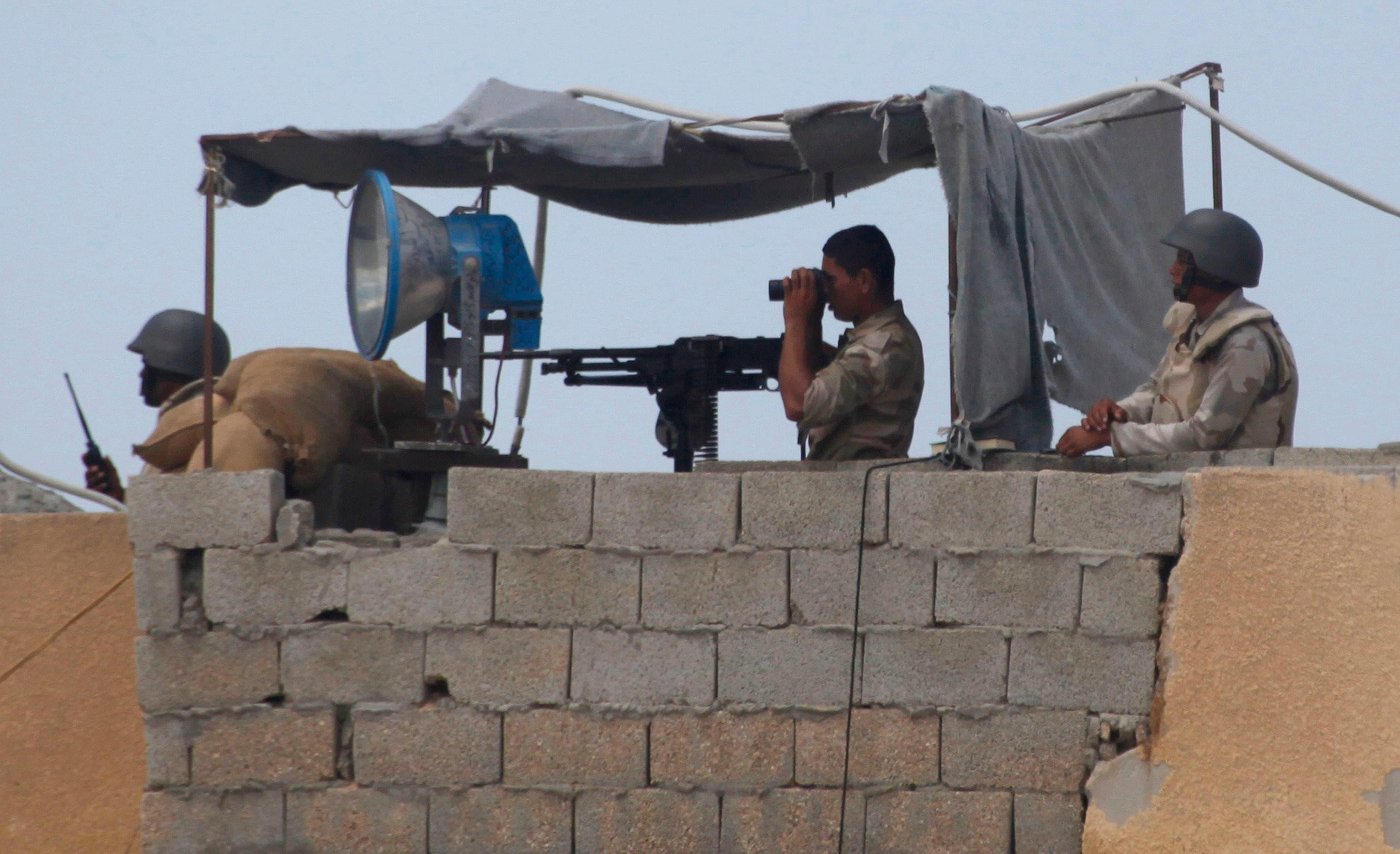 Egypt crackdown on Gaza border