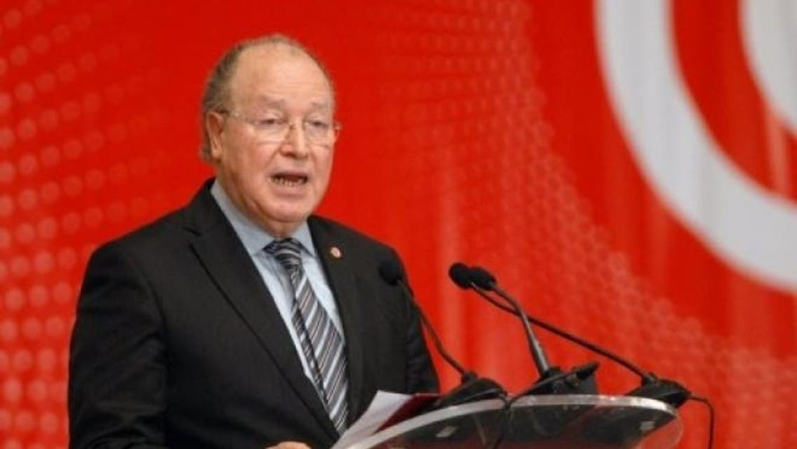 Tunisian Assembly Constituent's president Mustapha Ben Jaafar speaks on May 16, 2013 in Tunis. (File Photo: AFP)