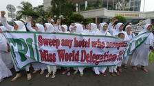 Indonesia moves Miss World final to Bali after protests