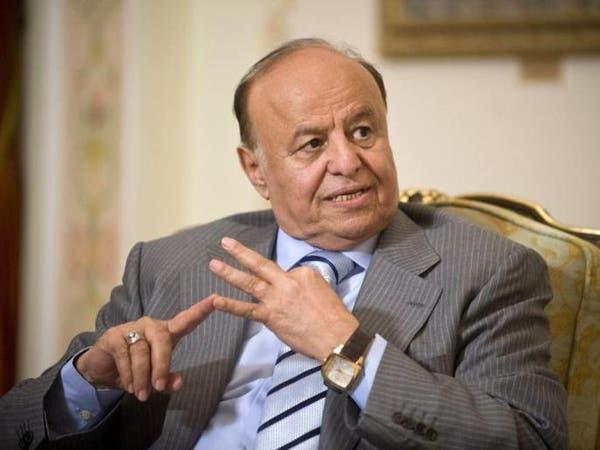 الرئيس اليمني يتهم إيران بتغذية العنف في بلاده