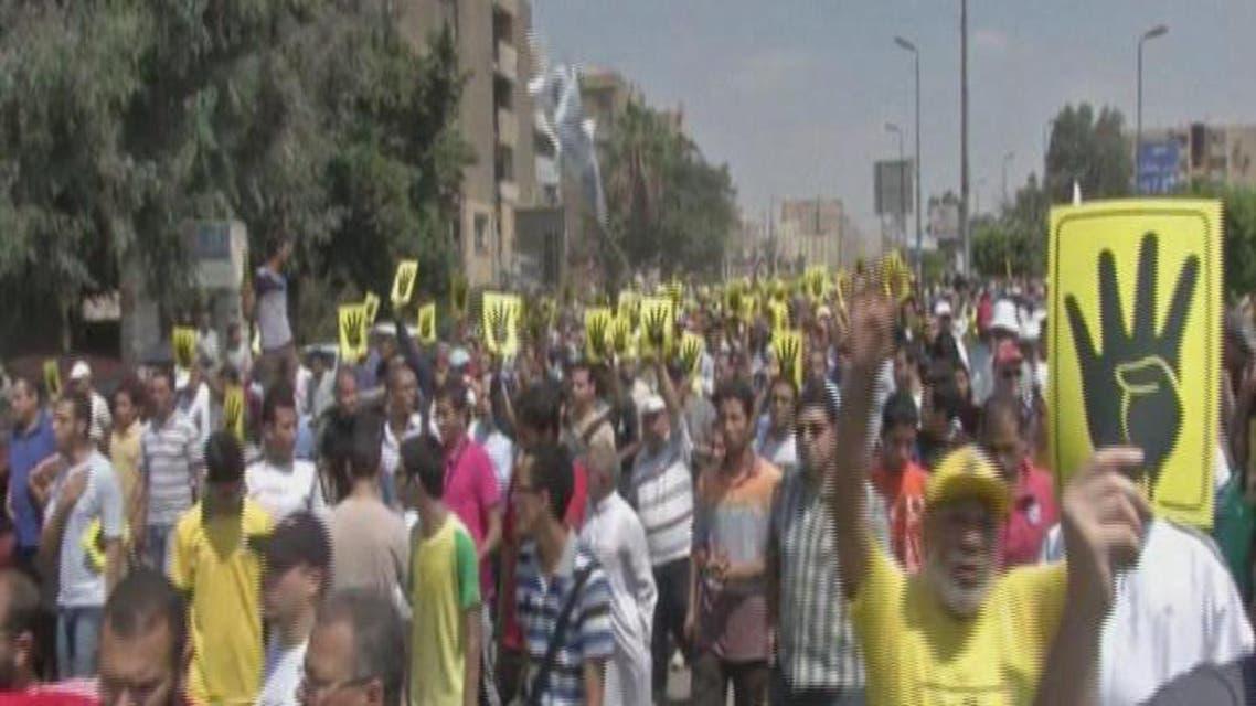 THUMBNAIL_ تظاهرات أنصار جماعة الإخوان تشهد تراجعا في أعدعد المشاركين