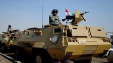 مقتل وإصابة 30 مسلحاً في عملية أمنية واسعة بشمال سيناء