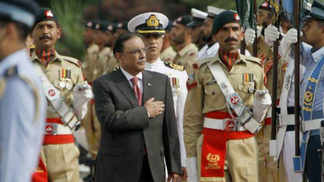 Zardari steps down