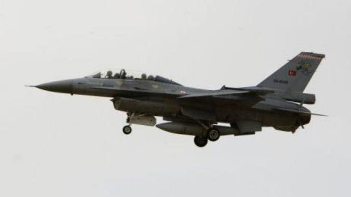 Turkey scrambled six F-16 fighter jets following near violations of its border by Syrian helicopters (Picture: Reuters)