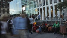 Apple fans queue for iPhone 5S 10 days early in NYC