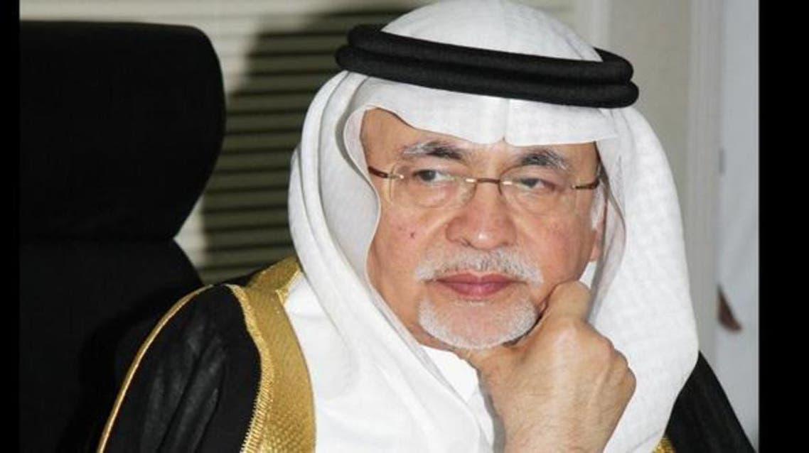 الدكتور عبد العزيز خوجة وزير الإعلام السعودي