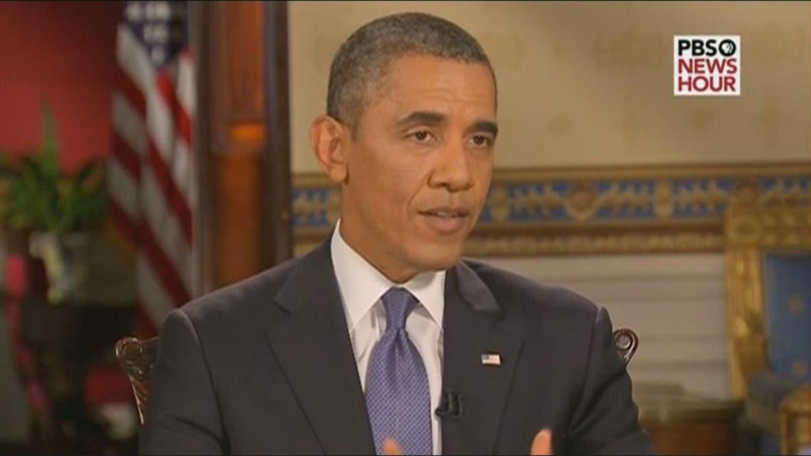 THUMBNAIL_ أوباما: أفضل الحل الدبلوماسي لمنع استعمال الاسلحة الكيميائية مرة اخرى