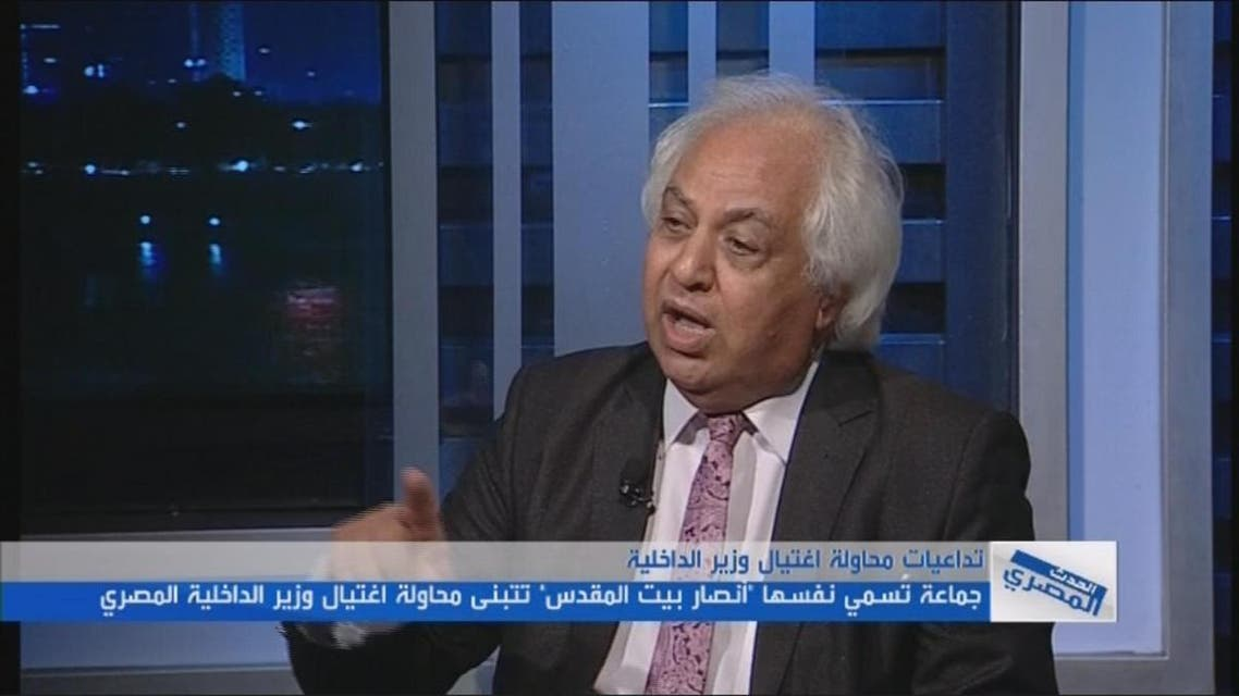 "THUMBNAIL_ محمد حمزة: ""أنصار بيت المقدس"" من أخطر التنظيمات بسيناء"