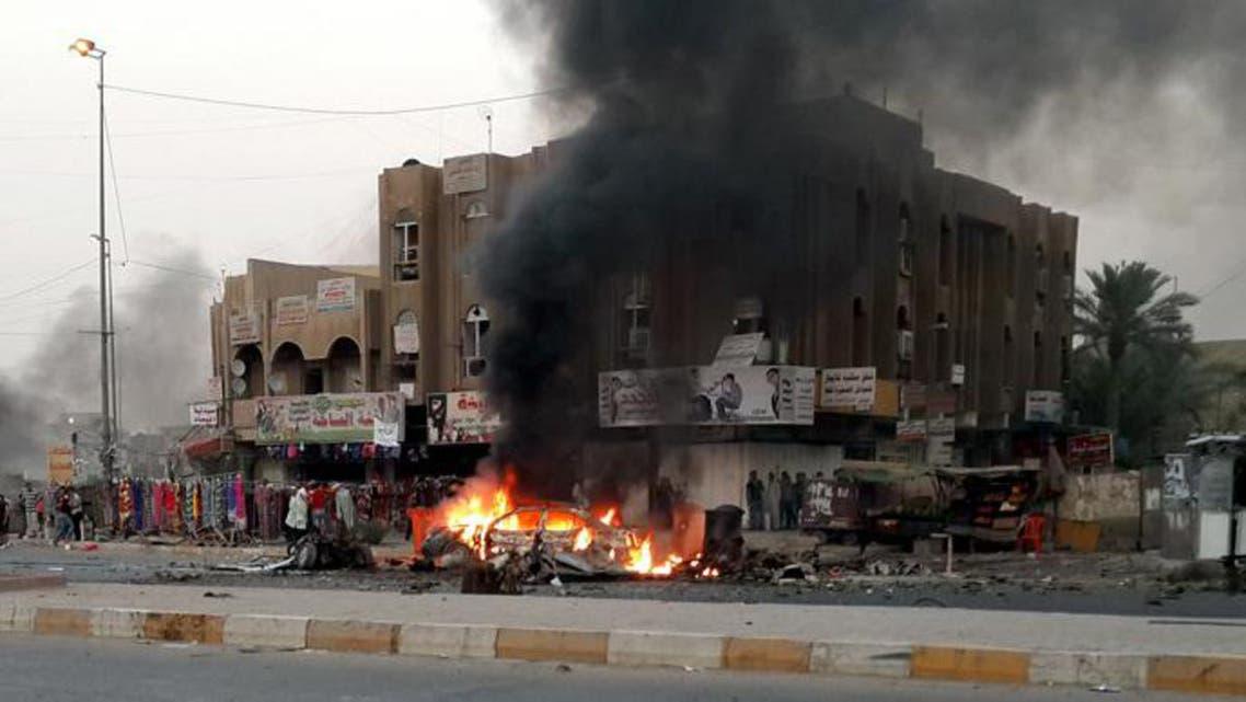 IraqbombingsAFP