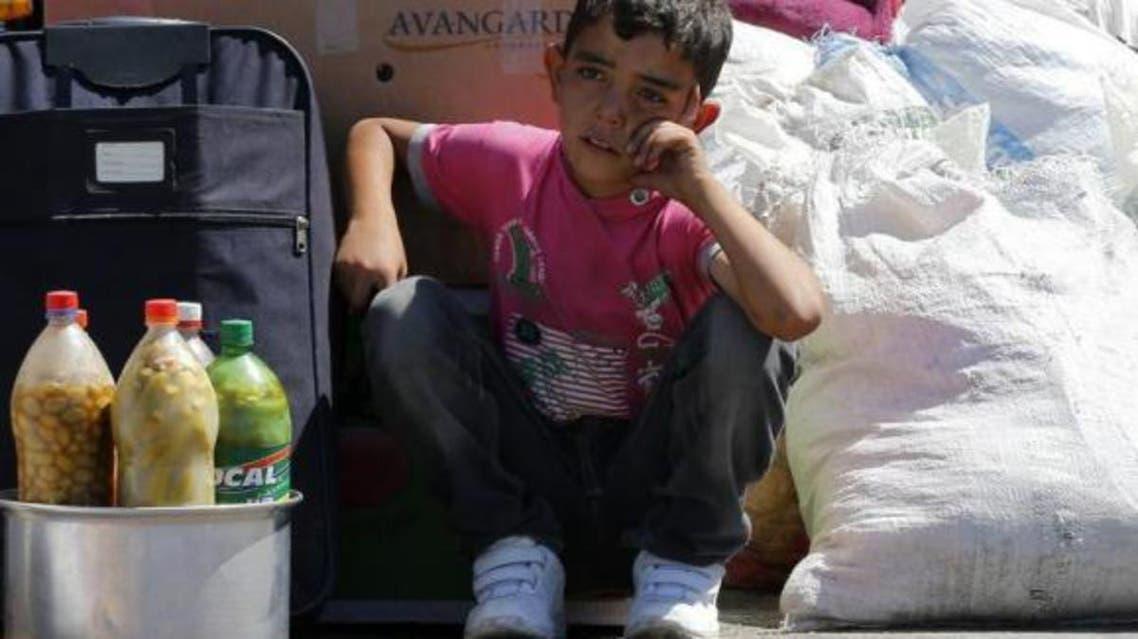 Fleeing Syria