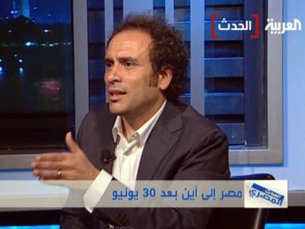 """حمزاوي: أؤيد حل """"الإخوان"""" لخلطها بين السياسة والدعوة"""