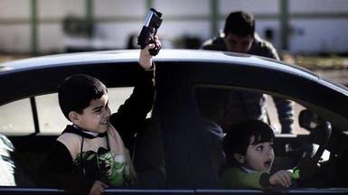 الحرب بأسلحتها تتحول إلى لعبة لأطفال ليبيا