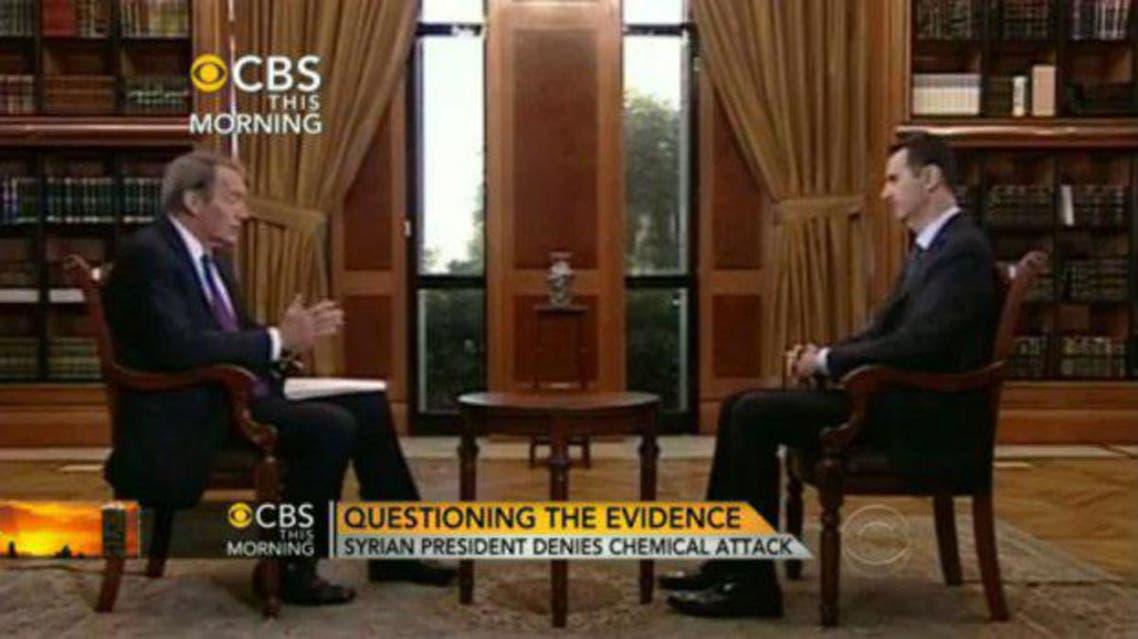 assad interview AFP