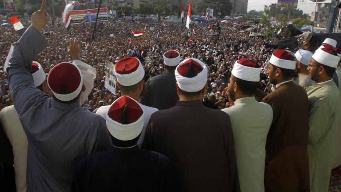 Clerics supporting deposed Egyptian president Mohamed Morsi  reu