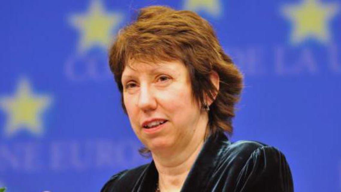 وزيرة خارجية الاتحاد الأوروبي كاثرين أشتون