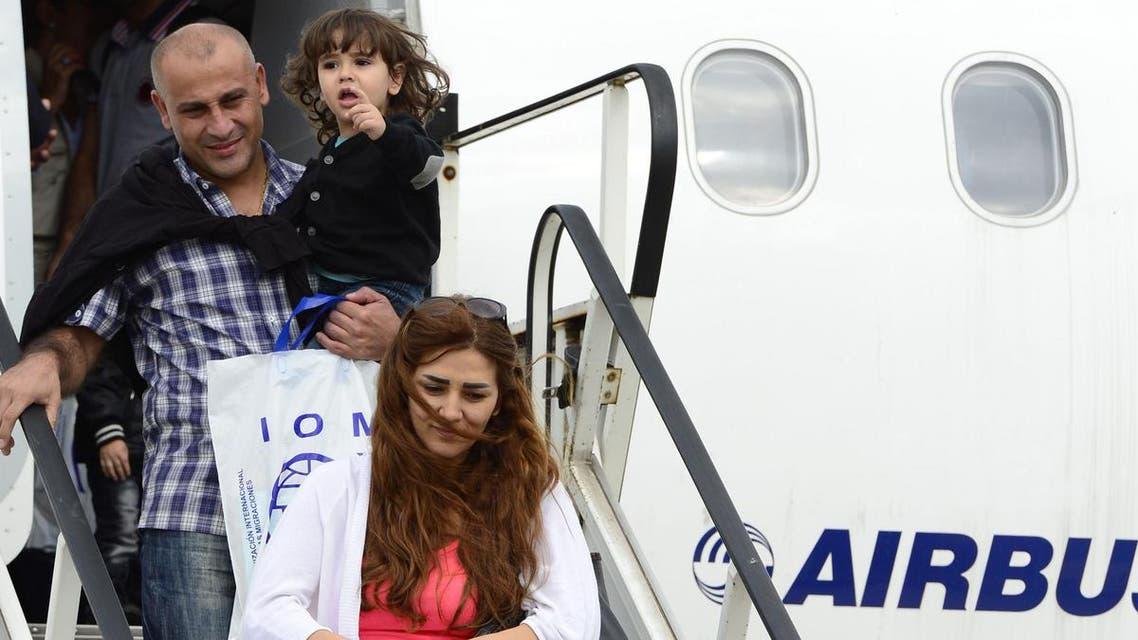 وصول لاجئين سوريين إلى ألمانيا