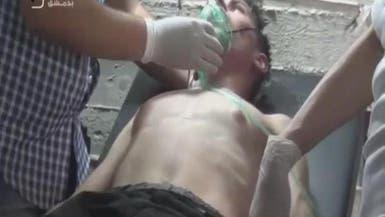 سوريا.. جيش النظام يستخدم غازات سامة في معارك ريف دمشق