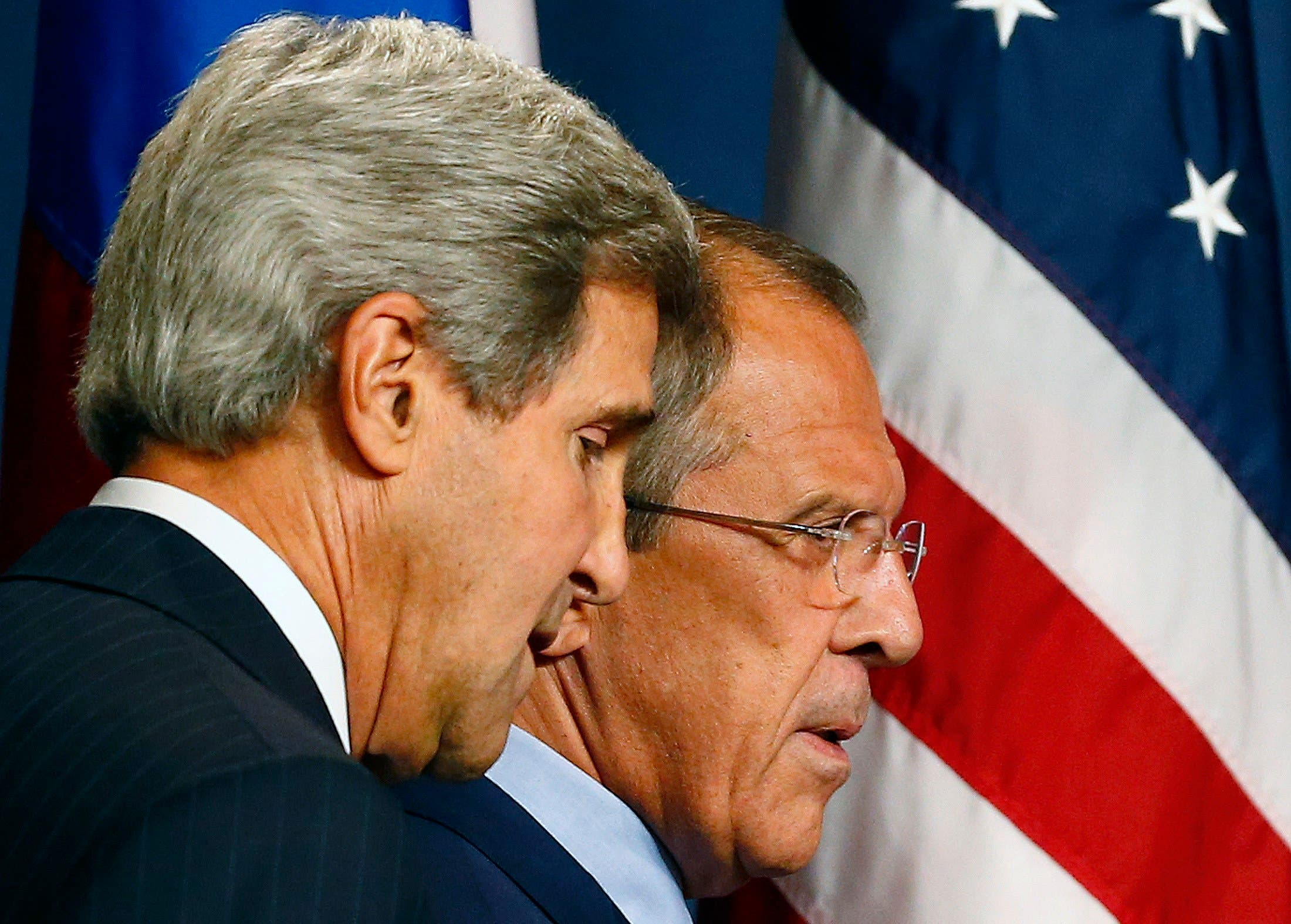 Lavrov + Kerry (Reuters)
