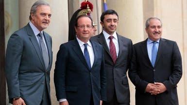 دول عربية وفرنسا تؤكد ضرورة تخلي الأسد عن الكيماوي