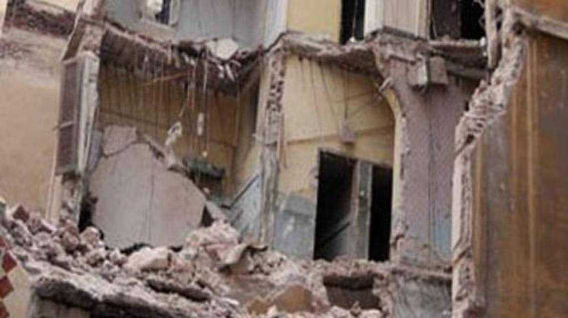 انهيار و سقوط مبنى