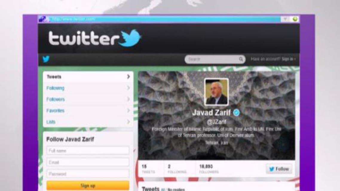 محمد جواد ظريف ينشئ حسابا على تويتر المحظور ببلاده