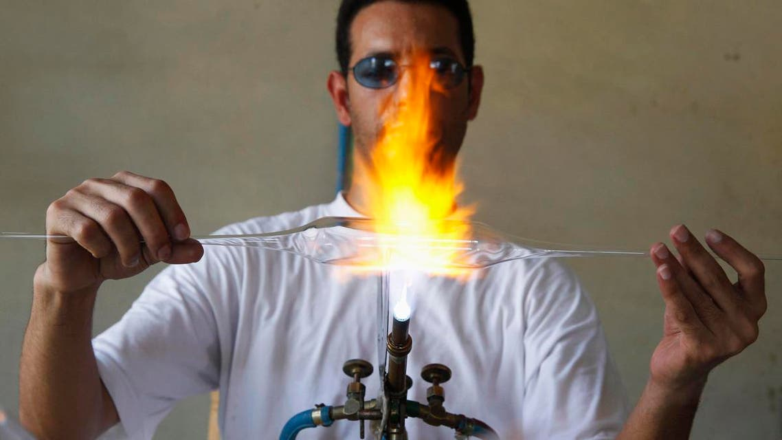 Lebanon's glassblowing craft
