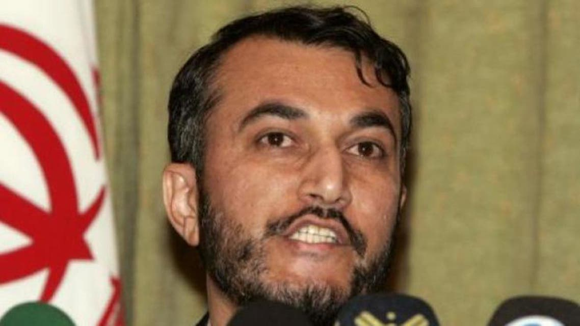 Iranian deputy foreign minister Hossein Amir Abdollahian afp