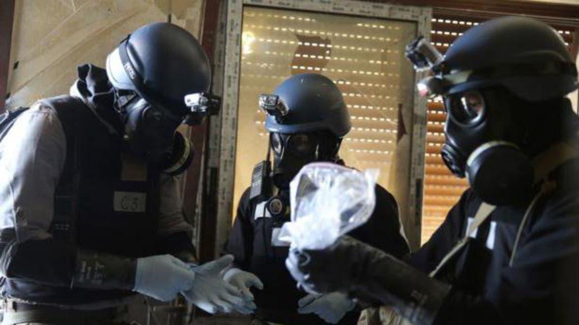 مفتشو الاسلحة الكيماوية