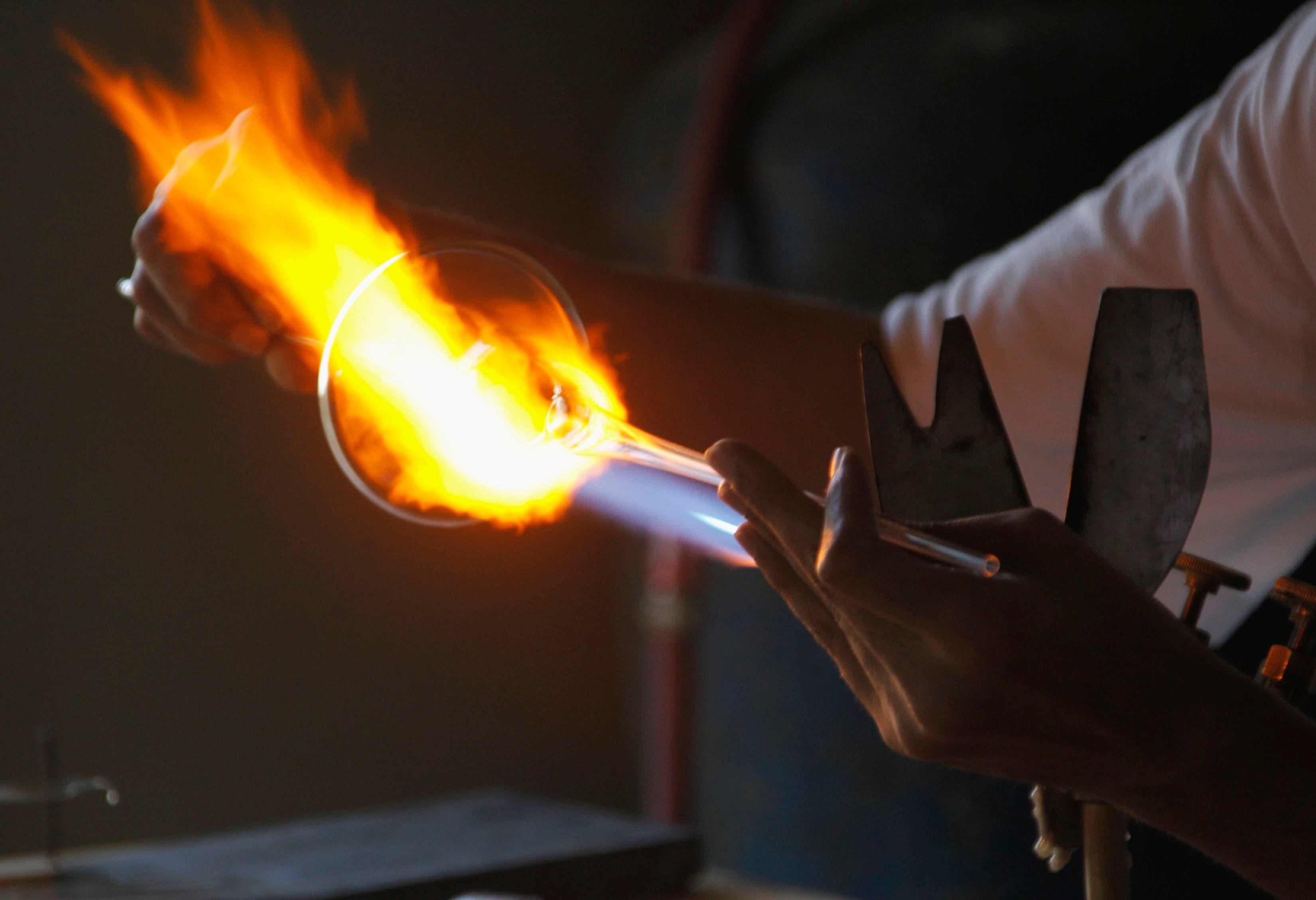 Lebanon's glassblowing craft