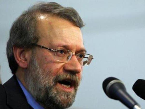 لاريجاني: اتفاق كيمياوي سوريا إشارة إلى عقلانية أميركا