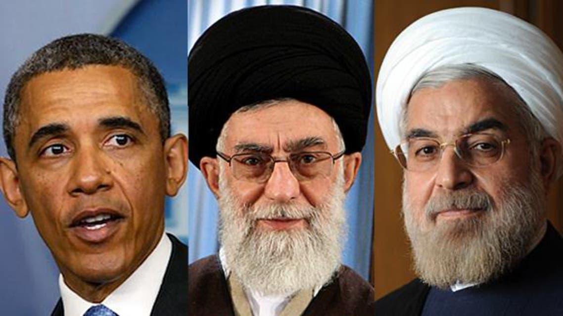 روحاني وخامنائي واوباما