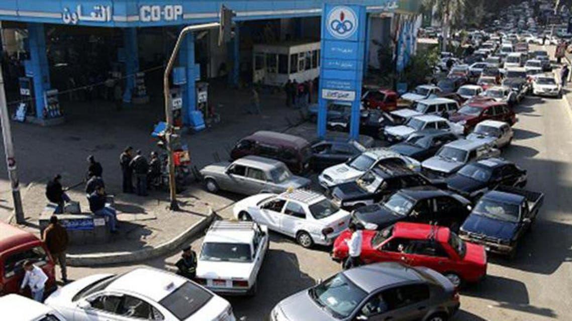 محطات الوقود في مصر