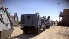Suspected Islamist militants bomb police bus in Egypt's Sinai