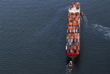 cargo ship file photo reuters