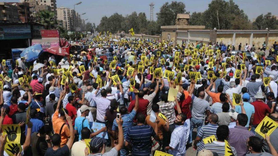 تظاهرات الاخوان في مدينة نصر