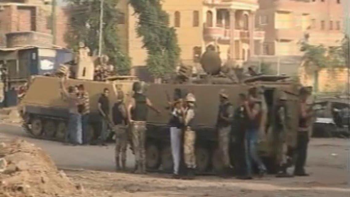 THUMBNAIL_ الشرطة المصرية تقتحم كرداسة