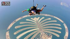 Dubai's Palm a hit for skydivers