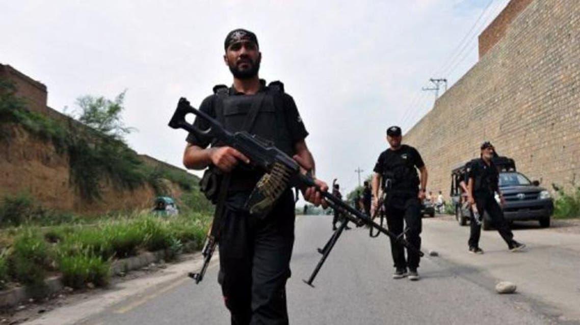 Pakistani police commandos on patrol. (AFP/File