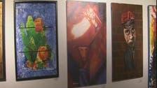 فنانون وهواة يبيعون أعمالهم لصالح مصر