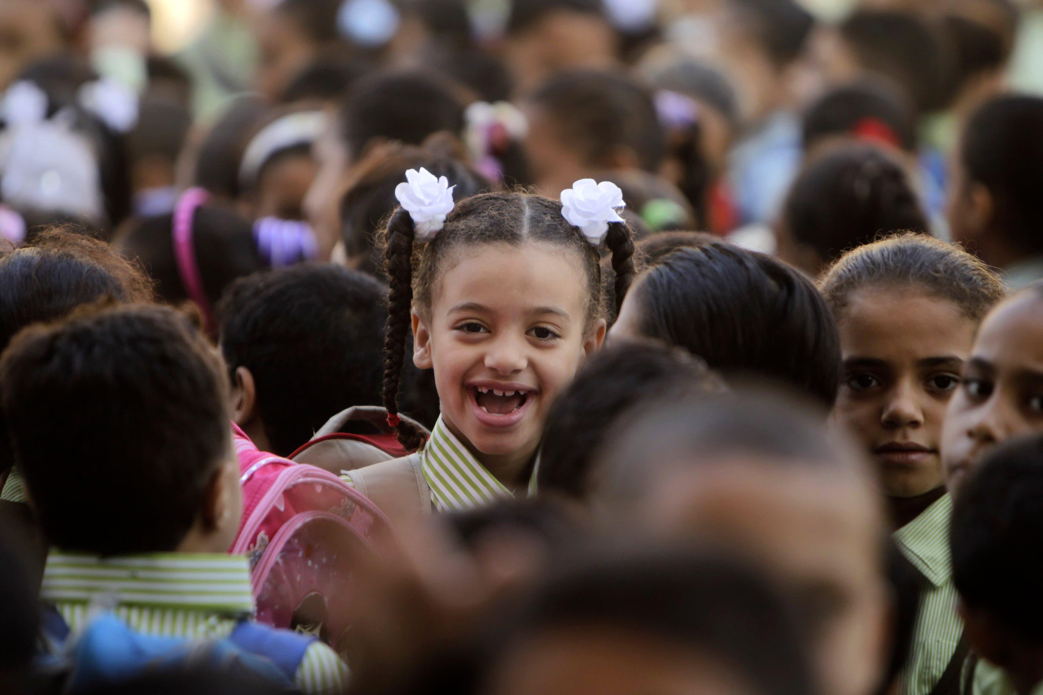 School starts in Cairo