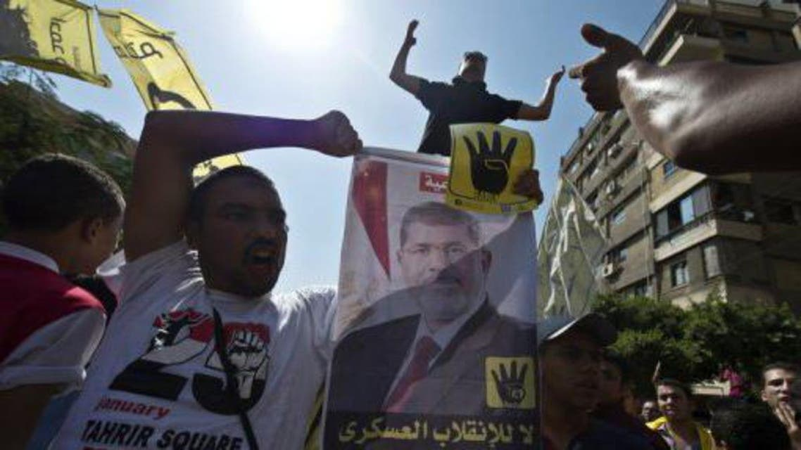 Supporters of Mohamed Morsi demonstrate on September 13, 2013 in the Egyptian capital (AFP/File, Khaled Desouki)