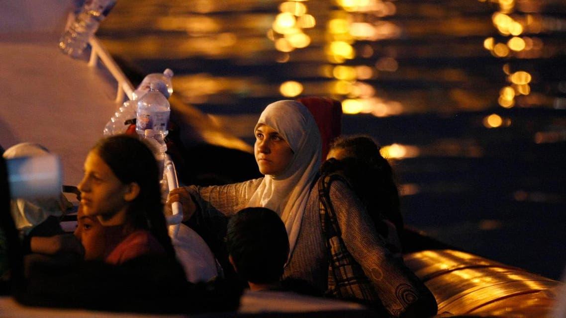 لاجؤون سوريون
